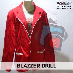 Jas Blazzer bahan dasar drill dipakai acara formal dan resmi