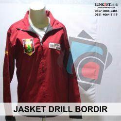 Jaket berbahan dasar drill pantas digunakan pada semua musim dan cocok untuk organisasi